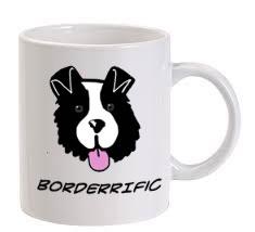 Borderific Ceramic Mug