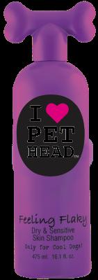 Pet Head Feeling Flaky Shampoo 475/ML Strawberry Yoghurt