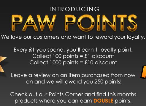 Paw Points Corner